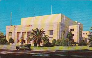 California Fresno Memorial Auditorium 1958