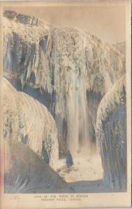 RP (Embossed) ; NIAGARA FALLS, Ontario , 00-10s , Cave of the Winds in Winter