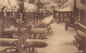 Belgium Brussels Musee Royal de l'Armee Salle des Trophees et Hall des Allies...