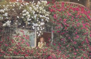 Flowers Rose Covered Home In California