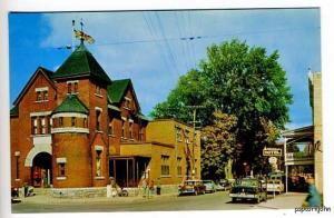 Buckigham Quebec Canada Street View Old Cars Postcard