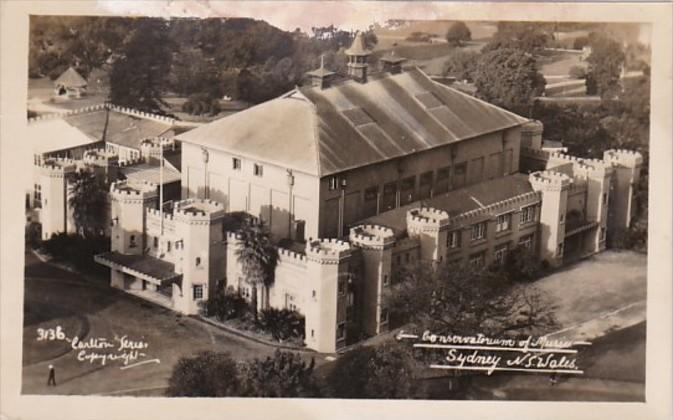Australia Sydney Conservatorium Of Music Real Photo