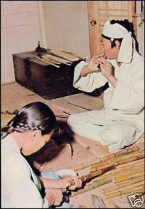korea coree, Native People Bamboo Musical Instruments