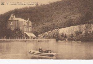 SPA, Liege, Belgium; Le Lac de Warfaaz, 00-10s