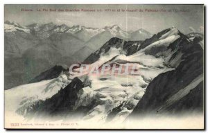 Old Postcard Oisans The peak of the Grandes Rousses massif Pelvoux