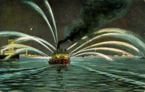 Fire Fighting: Fire Boat in Action!