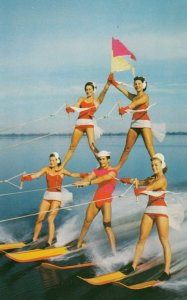 CYPRESS GARDENS, Florida, 50-60s; Thrilling Water-Skiing Spectacle