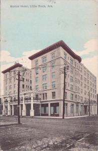 Marion Hotel Little Rock Arkansas 1908