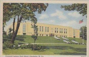 West Virginia Charleston Stone wall Jackson High School