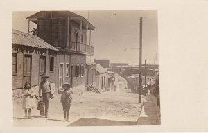 RP: Street scene , MOLLENDO , Peru , 1910s