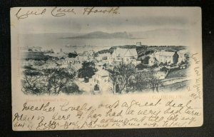 Vintage Howth and Irelands Eye Co Dublin Real Picture Postcard RPPC Cover