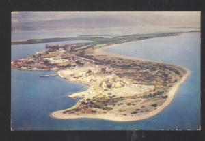 PORT ROYAL PALISADES JAMAICA VINTAGE POSTCARD AERIAL VIEW KINGSTON
