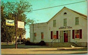Homestead (Amana), Iowa Postcard HOMESTEAD STORE Street View c1960s Unused