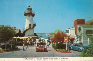 Marina Del Rey CA, California - Fisherman's Village