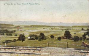New York Utica Grand View Of Mohawk Valley 1907