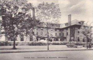 Minnesota Minneapolis Sanford Hall University of Minnesota Albertype