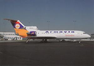 ARMAVIA YAK-42D, unused Postcard
