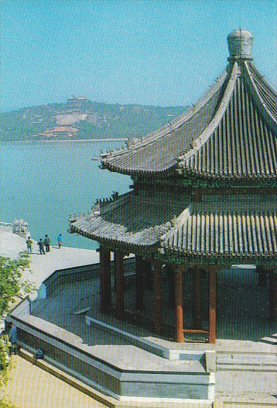 China Peking Panorama OPavilion Summer Palace