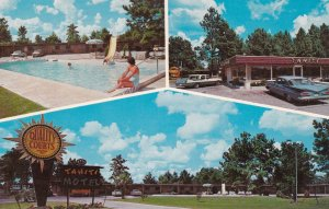 FOLKSTON,Georgia 50-60s Quality Motel Tahiti & Restaurant