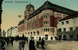 sweden, STOCKHOLM, Kungliga Posthuset (1910s) Postcard