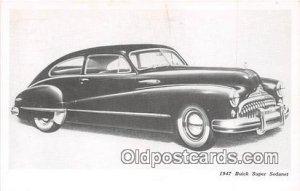 1947 Buick Super Sedanet Auto, Car Unused