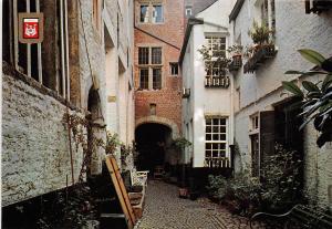 Belgium Antwerpen Typical Ancient Alley Typisch oud Steegje