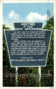 Meeting Threet Great Watersheds Misc PA 1932