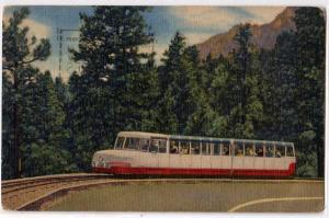 Broadmoor Mt, Miniature Cog Train, Colorado Springs CO