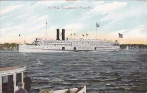 Fall River Line Steamer Priscilla 1909