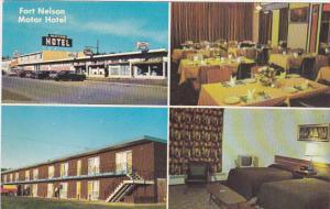 Fort Nelson Motor Hotel , Alaska Highway Mile 300 . FORT NELSON . B.C. , Cana...