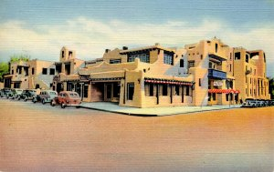 NM - Santa Fe. La Fonda Hotel