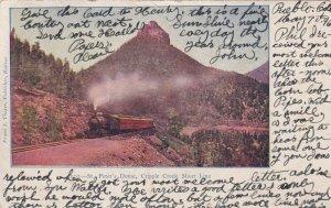 COLORADO, PU-1906; St. Peter's Dome, Cripple Creek Short Line