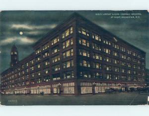 Divided-Back BUILDING Rochester New York NY ho3303