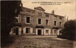 CPA AK Maison des Missionaires rue Cleberg - LYON (470597)