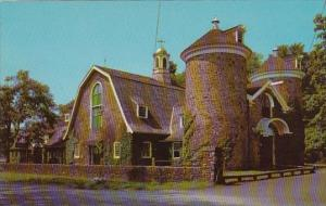 New York Cooperstown Entrance Building Of The Famous Farmers Museum And Villa...