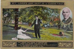 Eugene Field No 7 Lover's Lane Saint Jo
