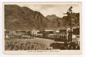 Aden Arabia, Cigarette Factory Britania Anonymous Society, Market, Autos, 1910s