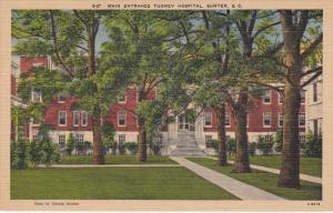Main Entrance Tuomey Hospital, Sumter, South Carolina, 30-40s
