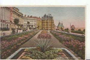 Sussex Postcard - Carpet Gardens - Eastbourne - Ref 18979A