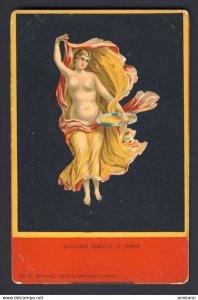 Bacchante Danseuse De Pompei - Nude woman