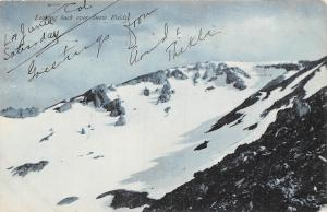 USA Looking back over Snow Fields 1909