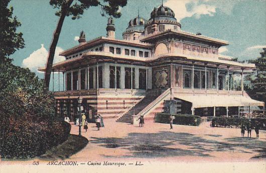 France Arcachnon Casino Mauresque