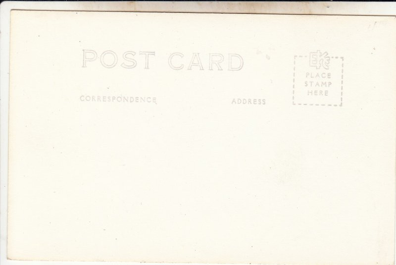 P1916 vintage ekc RPPC the panama canal locks trees view etc unused