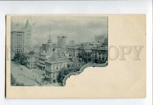 3074128 NEW YORK CITY City Hall and Surrounoings  Vintage PC