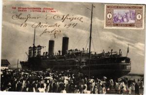 CPA Senegal-Dakar-L'Arrivée de l'Asie (235472)