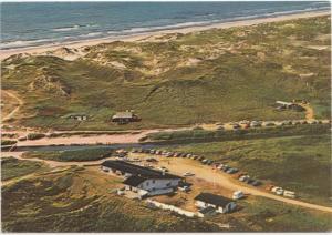 Hotel Henne Molle a Henne Strand, Denmark, used Postcard