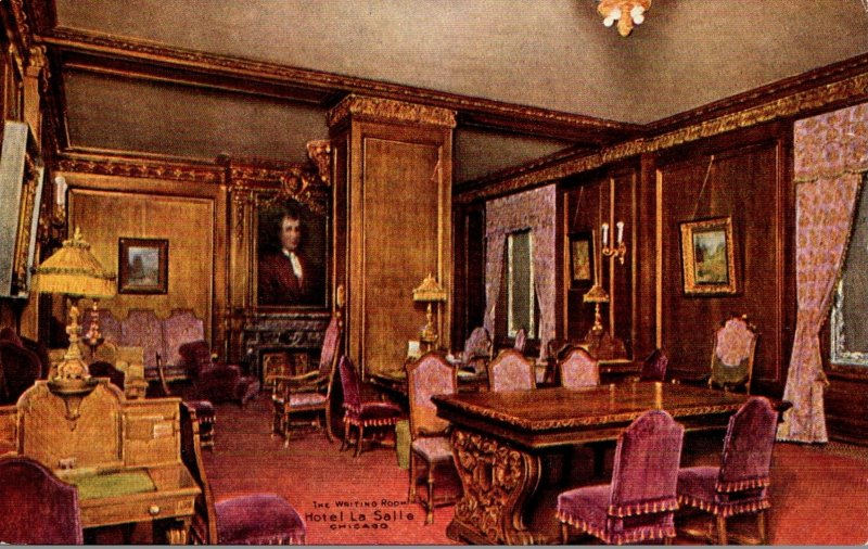 Illinois Chicago Hotel La Salle The Witing Room