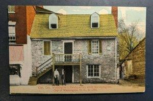 Mint Vintage Gen Geo Headquarters Washington DC RPPC Postcard