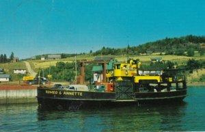 Ferry Romeo Et Annette , Canada , 1964 ; Meguasha, Que-Dalhousie, N.B.