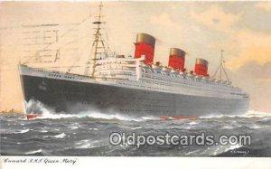 Cunard RMS Queen Mary Ship 1959